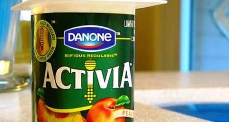 Danone yaourt