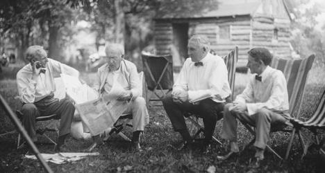 Ford-Edison-Harding-Firestone