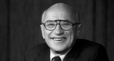 Milton Friedman photo