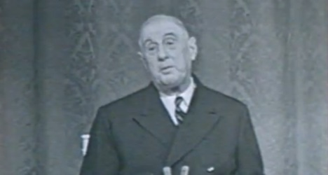 charles de gaulle ina